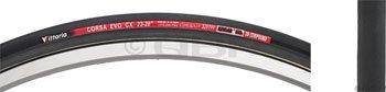 Vittoria Corsa Evo CX Tubular Tire (Black, 700 x 21/28-Inch)