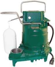 Zoeller Pump Company BN53-0032 Cast Iron Automatic Submersible Sump Pump 1/3 Hp 106929