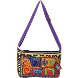 laurel-burch-medium-crossbody-zipper-top-15-inch-by-10-inch-dog-tails-patchwork