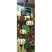 Nueva lámpara Turca para techo, bolas grandes de 18 cm de ...