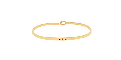 Mrs. Bangle Bracelet Bridal Shower or Engagement Gift for The Bride (Jacqueline Bridal Shop)