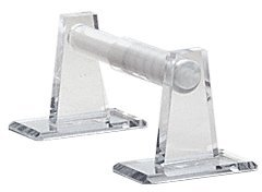 - C.R. Laurence MPHC11 CRL Clear Acrylic Mirror Toilet Paper Holder
