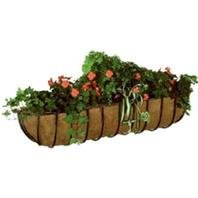 Gardman R967 Blacksmith Wall Trough with Coco Liner, 30