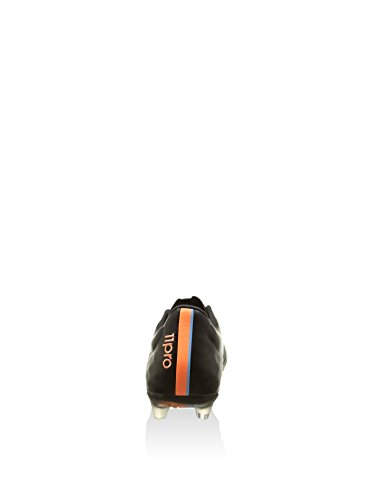 Botas De Fútbol / Tachuelas Adidas 11 Pro Fg, Para Hombre, De Cuero, Blanco, Negro Y Naranja