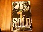 Solo, Jack Higgins, 0440181658