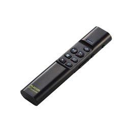 【まとめ 2セット】 エレコム Bluetoothリモコン/90度補正機能付/ジャイロセンサー/ブラック M-VRA01BK   B07KNRPVMX