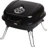 Blue Rhino UniFlame Grill Boss Charcoal Grill Black CBT806G