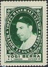 Topps Baseball Stamps - 1961 Topps Stamps (Baseball) Card# 18 Yogi Berra of the New York Yankees VGX Condition