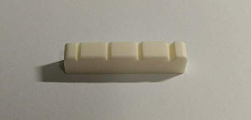 Slotted Curved Bass Guitar Bone Nut 42mm MX0734