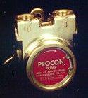114E240F11BA250 - Procon brass, 240 GPH bolt-on w/250 psi relief by Procon