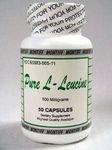 Montiff Pure L-leucine, 500 mg - 50 Capsules