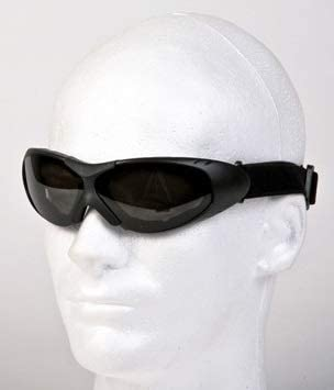 Billys Biker Gear Motorcycle Goggles with Smoked Lenses