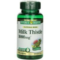 Nature's Bounty Milk Thistle 1000 mg Softgels, 50 Count Bottle For Sale