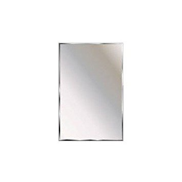 Theft Proof Mirror Size: 24'' H x 18'' W x 0.5'' D by Ketcham Medicine Cabinets