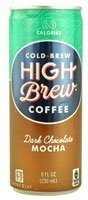 High Brew Coffee - Dark Chocolate Mocha - 8oz.(Pack of 30)
