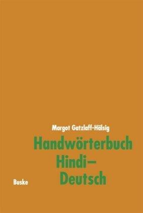 Handwörterbuch Hindi-Deutsch