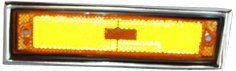 Chevrolet C10 Side Marker (TYC 18-1201-66 Chevrolet/GMC Driver Side Replacement Side Marker Lamp)