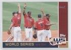Atlanta Braves Fan Series Watch - Atlanta Braves (Baseball Card) 2007 Topps Updates & Highlights - World Series Winner Watch Sweepstakes #ATL