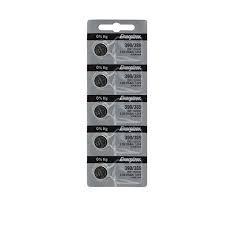 Energizer Batteries 390/389 (189, SR1130SW, SR1130W) Silver Oxide Watch Battery. On Tear Strip (Pack of 5) ()