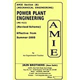 AMIE Power Plant Engineering MC-412 Solved Paper