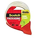 Scotch Sure Start Shipping Packaging Tape with