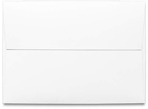 Square Square Flap - Envelope, A1 White 3 5/8