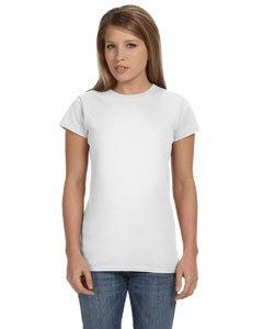Gildan Softstyle Ladies' Tee (White) (XL) - Gildan Ladies Tee