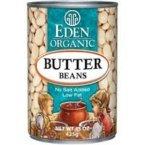 Eden Foods Butter Lima Beans 48x 15 Oz