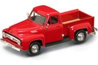 1953 Ford F-100 Pickup Red 1/43 by Road Signature 94204