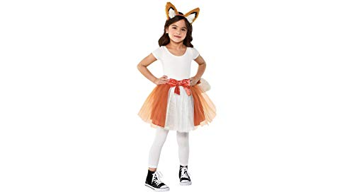 Amscan Fox Halloween Costume Accessory Kit for Girls, One Size, 2 Pieces