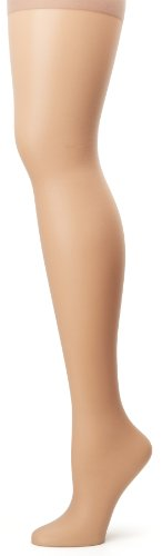 Hanes Silk Reflections Women's Plus-Size Control Top Enhanced Toe Pantyhose, Soft Taupe, 2 Plus ()