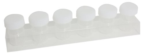 Sargent Art 98-8916 6-Jar Empty Tray with Caps