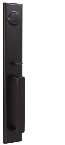 Weslock 06691-1--002D Woodward II Entry Handle, Oil-Rubbed Bronze (Weslock Handlesets)