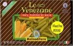 Le Veneziane Corn Pasta Penne Rigate - Case of 12 [Misc.]