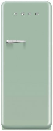 Smeg FAB28UPGR1 50's Retro Style Aesthetic Refrigerator with Freezer Compartment with Right Hinge, Pastel Green (Smeg Fridge Mini compare prices)