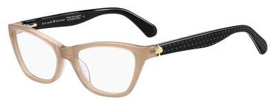 Kate Spade Alaysha FWM Nude Plastic Cat-Eye Eyeglasses 51mm (Eyeglasses Women Frame Cat)