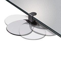 - Clamp On Mouse Platform, 7-3/4w x 8d x 1/2h, Black