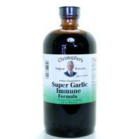 Super Garlic - Christopher's Original Formulas Super Garlic Immune 16 oz