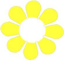 Daisy Flower - Yellow - Bumper Sticker / Decal