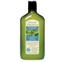 Avalon Organics Shampoo, Peppermint, 11 Ounce (Pack of 3) by Avalon