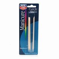 Rite Aid Manicure Hardwood Cuticle Sticks 1 set