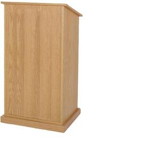 (Wireless Chancellor Lectern in Cherry)