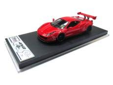 Vclocc 1/64リバティウォークLB WORKSフェラーリ458 Rear Wing ver. 樹脂製モデル 手作り 限定 20台 赤 B07SZPT3CN