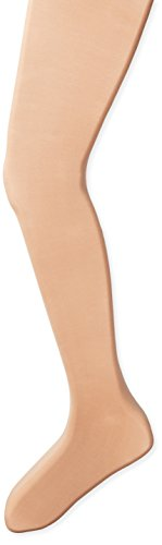 Capezio Girls 8-12 Ultra Soft Transition Tight, Light Suntan, 8-12 Dance Footless Tights