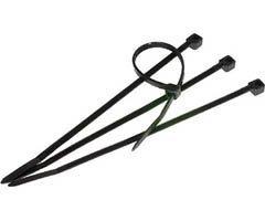 Steren Pc (400-804BK Steren 4IN Cable Ties 100 Pcs - Black)