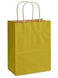 クラフトTintedカラーショッピングバッグ – 8 x 4 1 2 x 10 1 4インチ、Cub   B0728GWL1Z