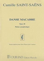 Danse Macabre, Op. 40 (Pome symphonique) (set) 2 Pianos, 4 Hands