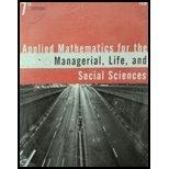 APPLIED MATH.F/MGRL.,LIFE,+SOC.SCI.(LL) - 7th edition