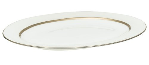 Royal Doulton Platinum Silk 13-1/2-inch Medium Platter