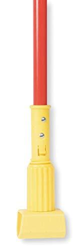 Tough Guy 60'' Fiberglass, Plastic Jaw Mop Handle - 1TYZ6, (Pack of 2) by Tough Guy (Image #1)